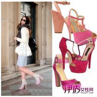 欧美时尚街拍秀出春夏新款美鞋