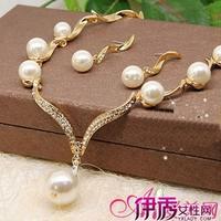 优雅气质珍珠吊坠