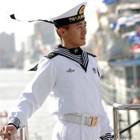 海军男初级士官全新水兵服清爽帅气