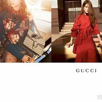 Gucci曝光2015秋冬女装广告