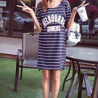 条纹裙夏季最清爽黑白色也能轻盈