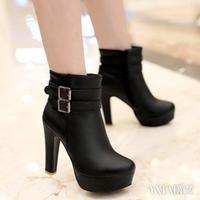 【图】高跟短靴的图片展示告诉你短靴流行的3要素