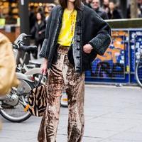 喇叭裤搭配女装混搭显纤瘦