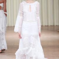 新娘笔记时装周的14款白裙