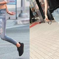 【图】牛仔裤配什么鞋好看大推荐普通单品也能打造时尚达人