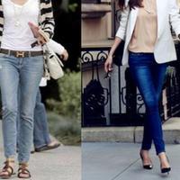 【图】大热牛仔裤配什么鞋好看选对款式才重要
