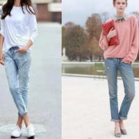 【图】牛仔裤配什么鞋好看这几款好搭配