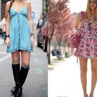 【图】连衣裙吊带裙穿搭介绍这几种裙子你都有吗