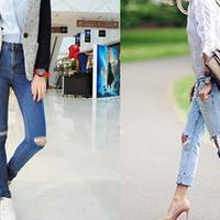 【图】穿牛仔裤配什么鞋好看教你轻松穿出气场