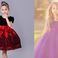 【图】公主裙女童纱裙如何搭配如何为自己的小孩穿衣打扮