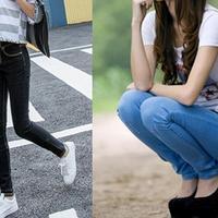 【图】牛仔裤配什么鞋好看一双小白鞋时髦大方还显年轻