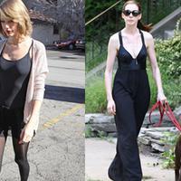 【图】夏季紧身衣搭配教你穿出超模时尚感