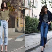 【图】牛仔裤配什么鞋好看你想要什么风格是关键