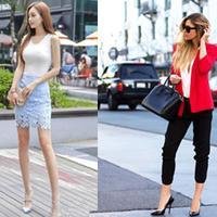 【图】街拍高跟女生谁更美带你体会不同风格的穿搭