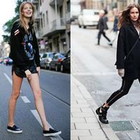 【图】新鲜出炉欧美街拍女孩边看边学穿衣经