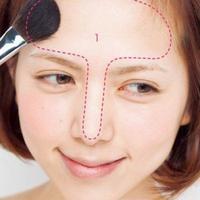 全防脱妆课程,散粉眼妆