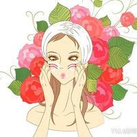 花样护肤品神奇花香打造香甜美肌