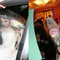 甜美新娘发型图片