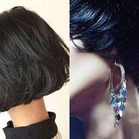 【图】短发造型有哪些不同的脸型应该剪哪种短发