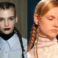 长发发型扎法大全一定要学会的一款时髦编发