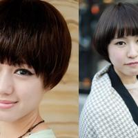 【图】大热的蘑菇头发型好看吗哪类脸型才适合这样剪