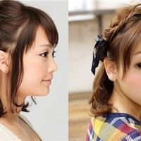 【图】短发编发发型半扎才是吸睛关键