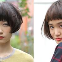 【图】蘑菇头发型展示可爱又减龄显嫩