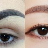 【图】圆形脸适合什么眉形如何选择眉笔颜色