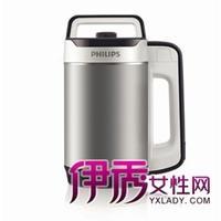 飞利浦推出免滤豆浆机全营养食谱