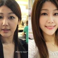 风靡台湾两组瘦脸手法