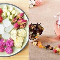 花茶组合展示 好用的配方帮助你瘦身
