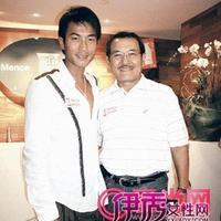 刘恺威爸爸刘丹照片曝光刘恺威整容有图有真相