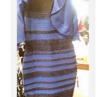 戚薇晒裙子颜色网友:刚看是白金现在是蓝黑
