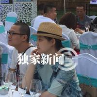 梅婷与老公出席王小帅婚礼自曝已怀二胎