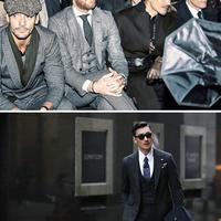 【图】胡兵出席伦敦时装周受关注与小贝合影颜值高