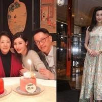 【图】李嘉欣为母亲庆祝生日 母亲气质吸引了不少网友