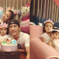 【图】解答贾静雯有几个孩子大眼萌姐姐����两周岁生日快乐